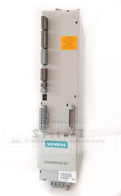 6SN1145-1BA01-0BA1 E/R Modul Simodrive 611 Siemens Versione F